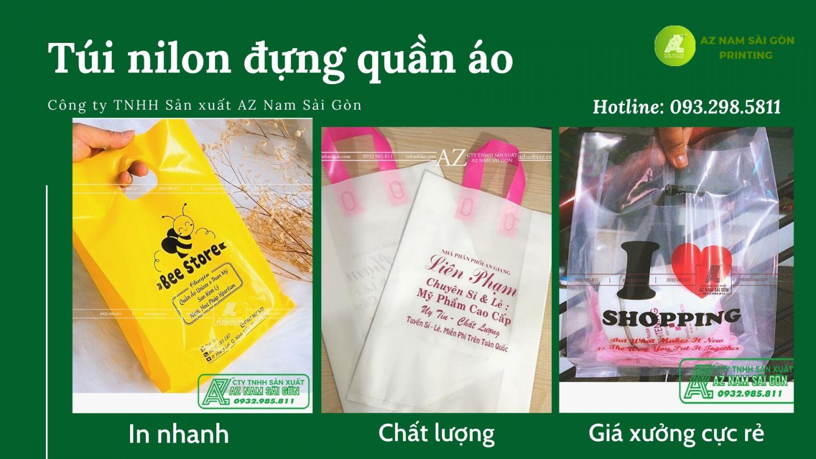 in bao bì az Nam Sài Gòn