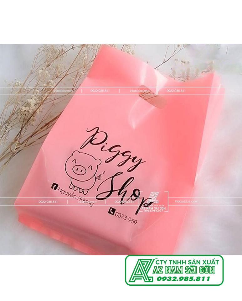 túi nilon Màu Hồng pastel ( Hồng Phấn, Hồng Nhật ) BIGGY SHOP